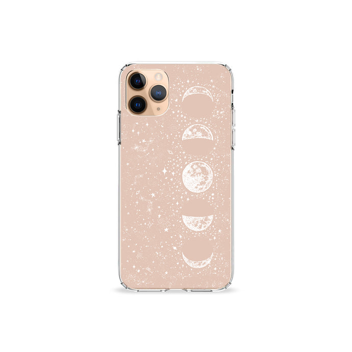 Taffy Pink Moon Clear iPhone Case,CSERA