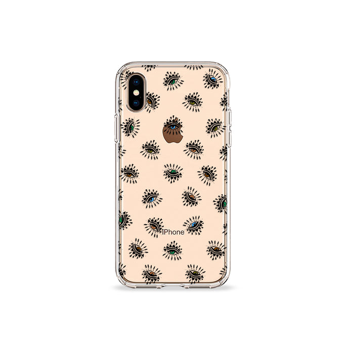 Envy Eyes Clear iPhone Case - bycsera