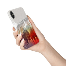 Load image into Gallery viewer, Fall Forest Snap iPhone Case - bycsera