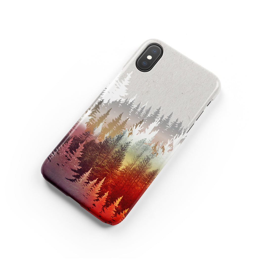 Fall Forest Snap iPhone Case - bycsera