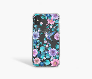 Hummingbird Clear iPhone Case - bycsera