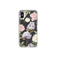 Load image into Gallery viewer, Hydrangeas Clear iPhone Case