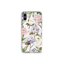 Load image into Gallery viewer, Hydrangeas Clear iPhone Case - bycsera