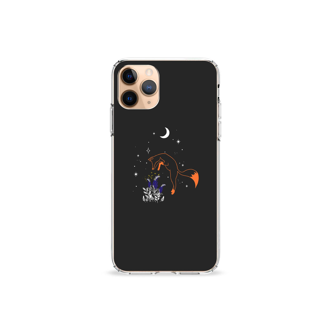 Fox With Gloves Clear iPhone Case,CSERA