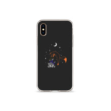 Load image into Gallery viewer, Fox With Gloves Clear iPhone Case,CSERA