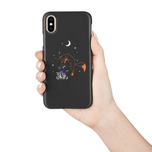 Fox With Gloves Snap iPhone Case,CSERA