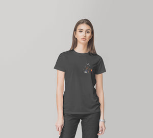 Fox With Gloves Eco T-Shirt,CSERA