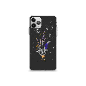 Lavender Moon Clear iPhone Case,CSERA