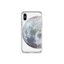 Load image into Gallery viewer, Waning Moon Clear iPhone Case