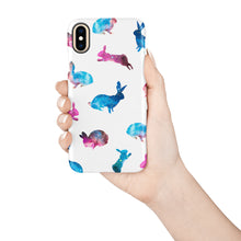 Load image into Gallery viewer, Galaxy Rabbits Snap iPhone Case - bycsera