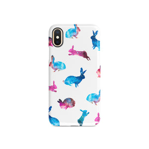 Galaxy Rabbits Snap iPhone Case,CSERA