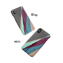 Load image into Gallery viewer, Geo Stripe Snap iPhone Case - bycsera