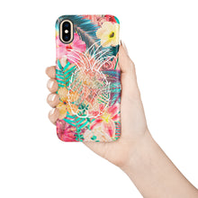 Load image into Gallery viewer, Pineapple Love Snap iPhone Case,CSERA