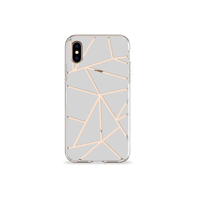 Grey Iso Clear iPhone Case,CSERA
