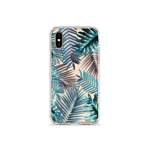 Load image into Gallery viewer, Emerald Palms Clear iPhone Case,CSERA