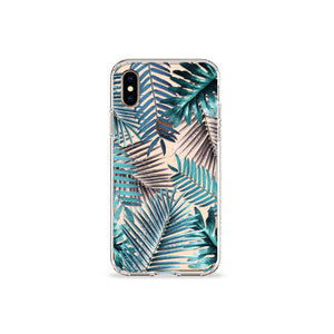 Emerald Palms Clear iPhone Case,CSERA