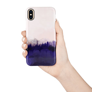 Plum Purple Snap iPhone Case,CSERA