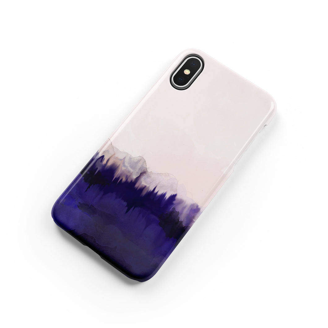 Plum Purple Snap iPhone Case