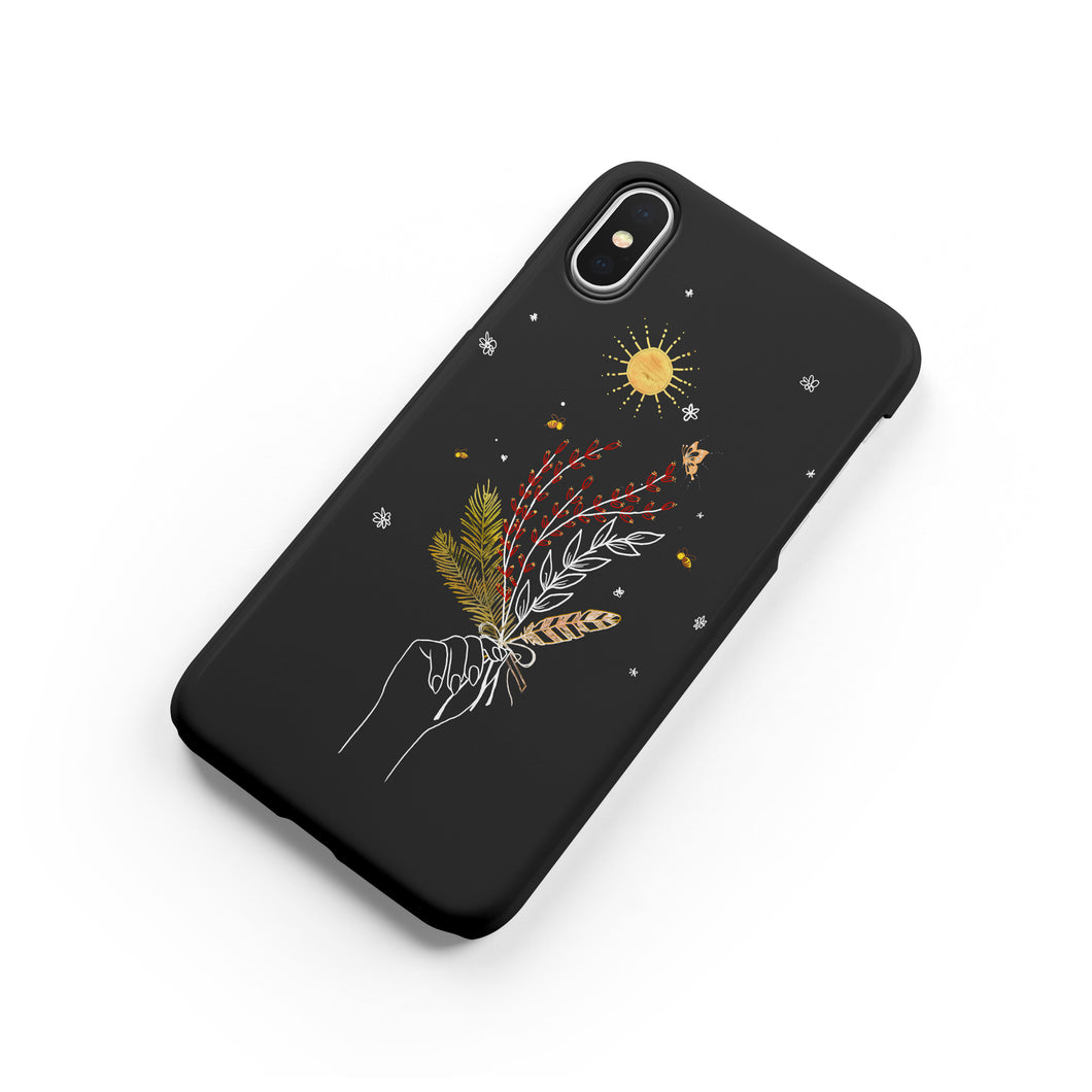 Herbs and Feathers Snap iPhone Case,CSERA