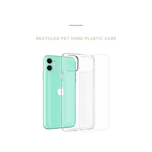 Sunrise Rainbow Clear iPhone Case