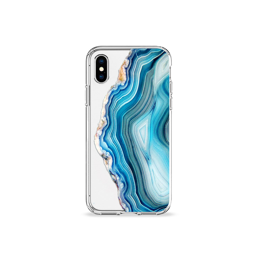 Agate Clear iPhone Case - bycsera