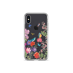 Kingfisher Clear iPhone Case