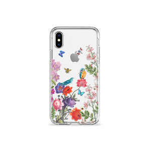 Kingfisher Clear iPhone Case - bycsera