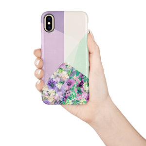Light Lavender Snap iPhone Case - bycsera