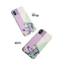 Load image into Gallery viewer, Light Lavender Snap iPhone Case - bycsera