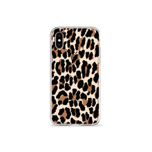 Load image into Gallery viewer, Leopard Print Clear iPhone Case - bycsera