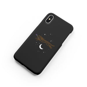Leopard Moon Snap iPhone Case,CSERA