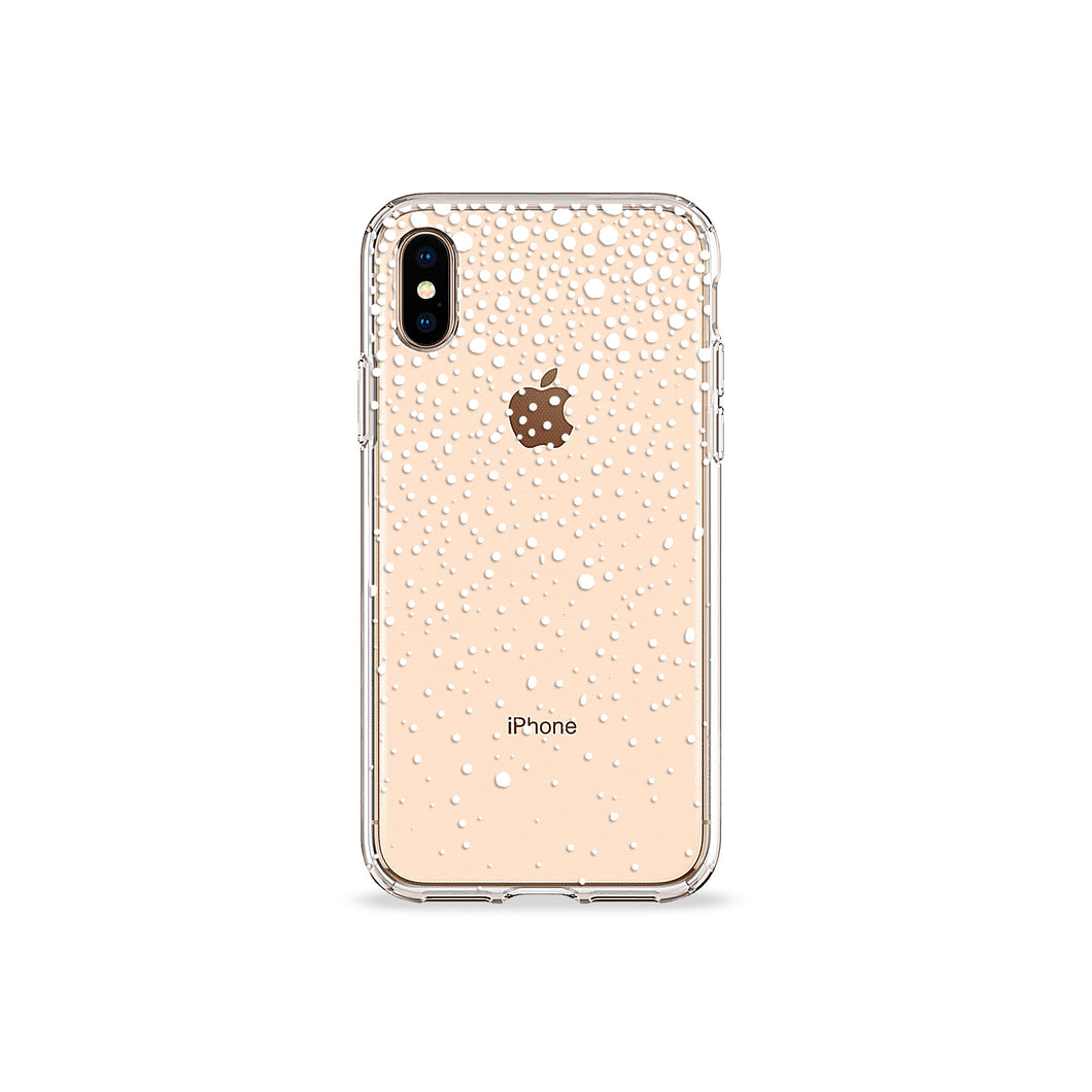 Snowflake Clear iPhone Case,CSERA