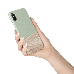 Olive Snap iPhone Case - bycsera