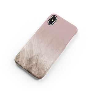 Light Tan Snap iPhone Case