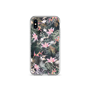 Lilium Clear iPhone Case - bycsera