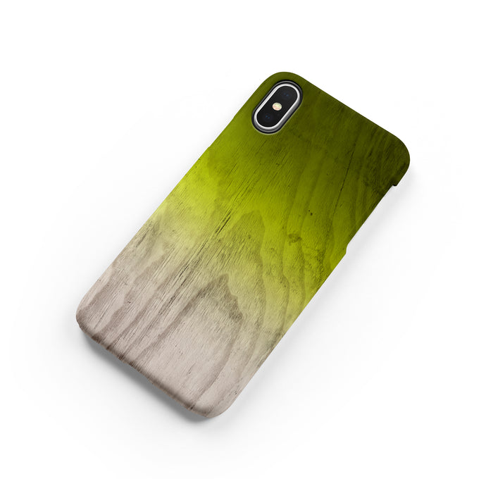Lime Green Snap iPhone Case