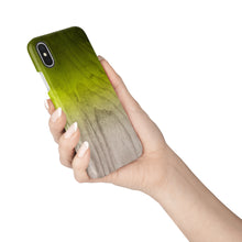 Load image into Gallery viewer, Lime Green Snap iPhone Case,CSERA