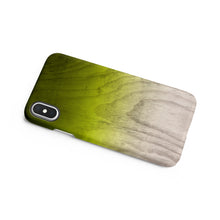 Load image into Gallery viewer, Lime Green Snap iPhone Case - bycsera