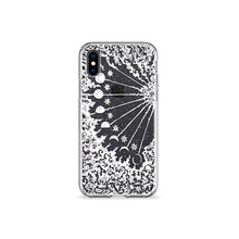 Load image into Gallery viewer, Moon Phases Clear iPhone Case,CSERA