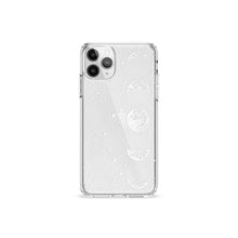 Load image into Gallery viewer, Lune Light White Clear iPhone Case,CSERA