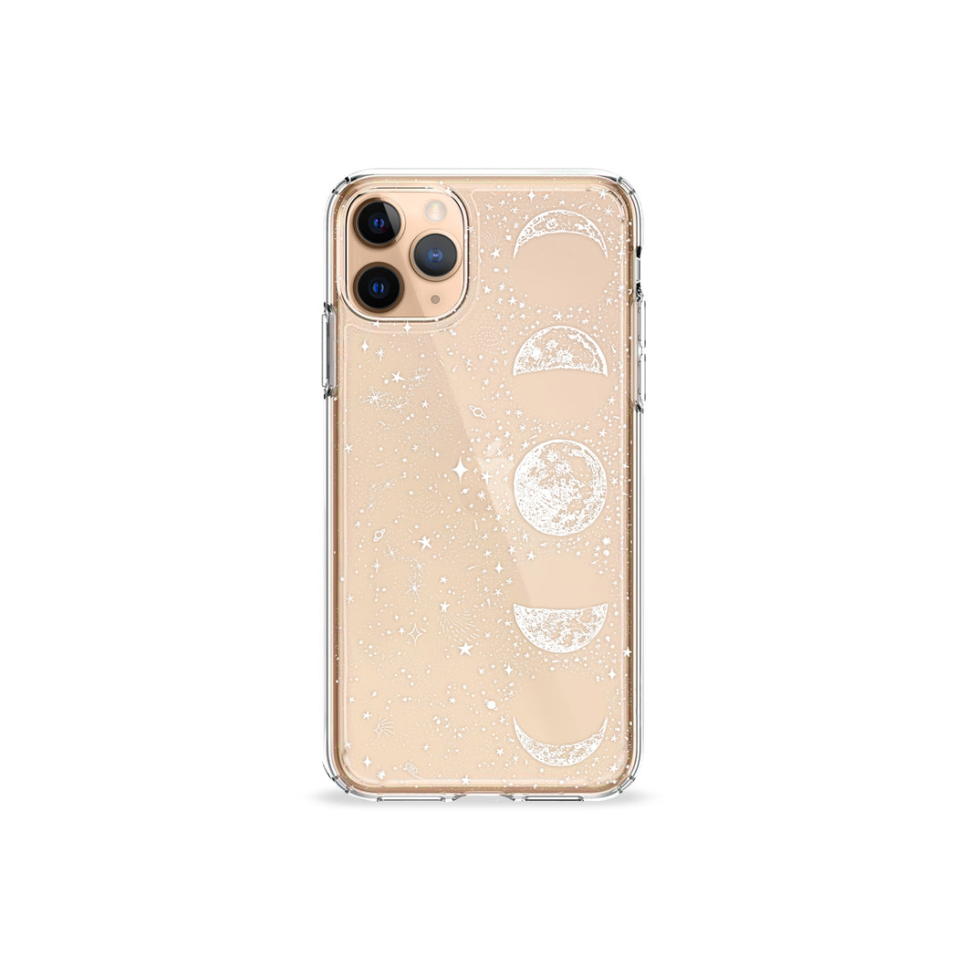 Lune Light White Clear iPhone Case,CSERA