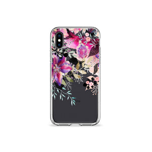 Peaches and Cream Clear iPhone Case - bycsera