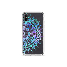 Load image into Gallery viewer, Midnight Mandala Clear iPhone Case,CSERA