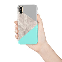 Load image into Gallery viewer, Turquoise Snap iPhone Case - bycsera