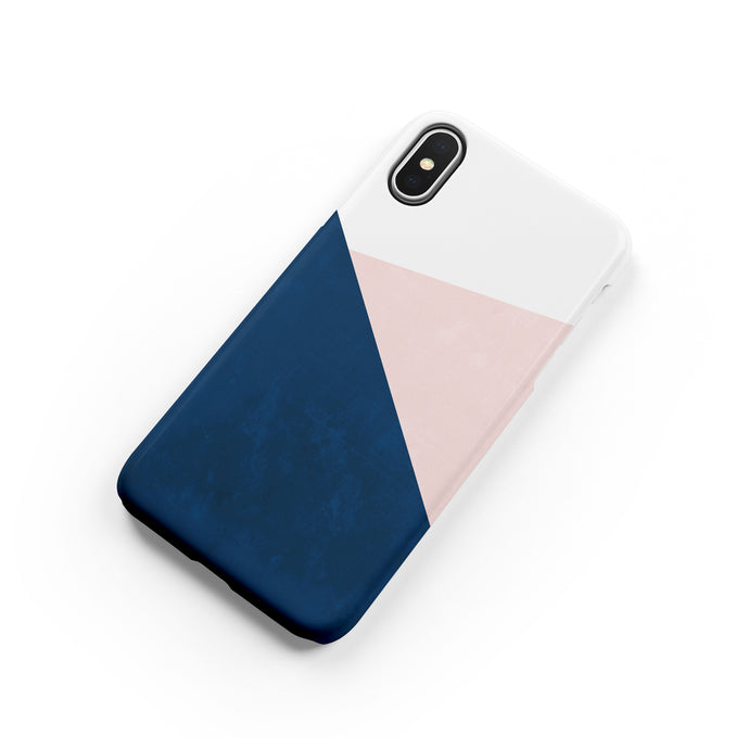 Navy and Blush Snap iPhone Case,CSERA