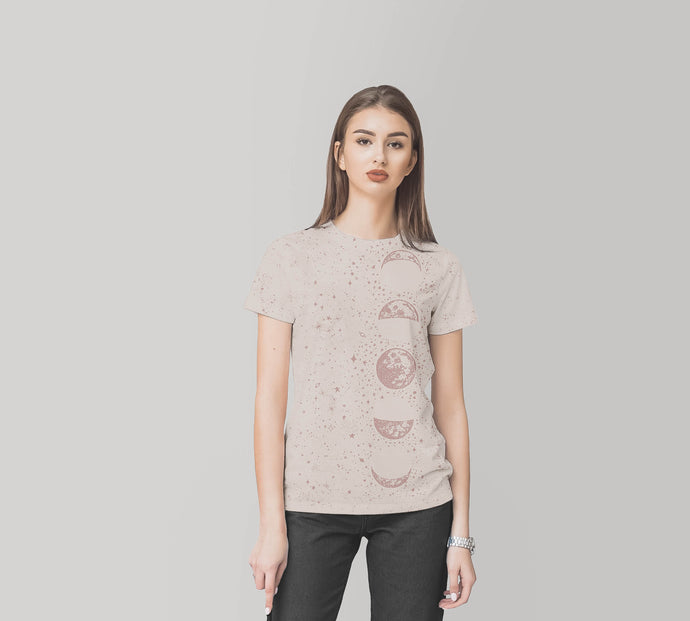 Taupe Moon Eco T-Shirt,CSERA