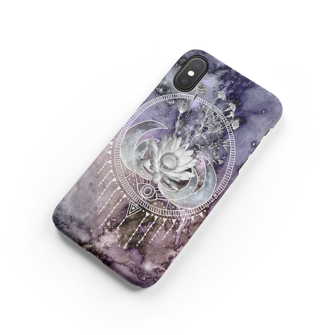 Moonflower Snap iPhone Case