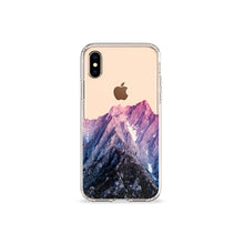 Load image into Gallery viewer, Mountain View Clear iPhone Case,CSERA
