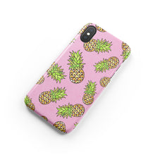 Load image into Gallery viewer, Ditsy Pineapple iPhone Snap Case - bycsera
