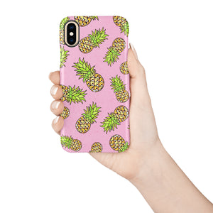 Ditsy Pineapple iPhone Snap Case - bycsera